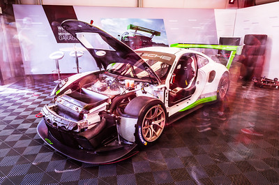 911 GT3 R in the Paddock
