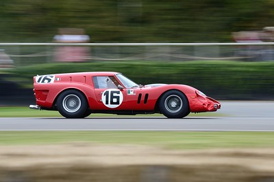 Ferrari 250 GT SWB Breadvan Alex Ames Lucas Halusa - Goodwood Revival 2015