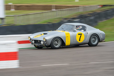 1960 Ferrari 250 GT SWB-C - Vincent Gaye - Joe Twyman - Goodwood Revival 2019