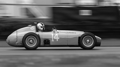 1961 Ferrari 250 GT SWB-C - Racing Team Holland - The Goodwood Revival 2017 bw