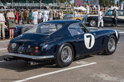 1960 Ferrari 250 GT SWB-C owned by Ross Brawn, once driven by Stirling Moss - The Goodwood Revival 2018