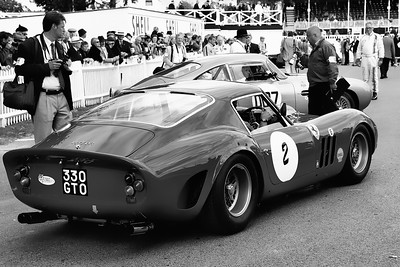 1963 Ferrari 330 GTO getting ready to go