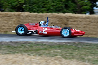 Ferrari 158 1964 1 5 litre V8 John Surtees Festival of Speed 2014