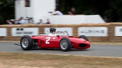Ferrari 156 Sharknose - Arturo Merzario - Goodwood Festival of Speed 2018
