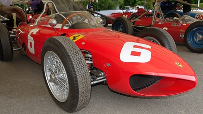 1961 type Ferrari 156 Sharknose Goodwood Festival of Speed 2014