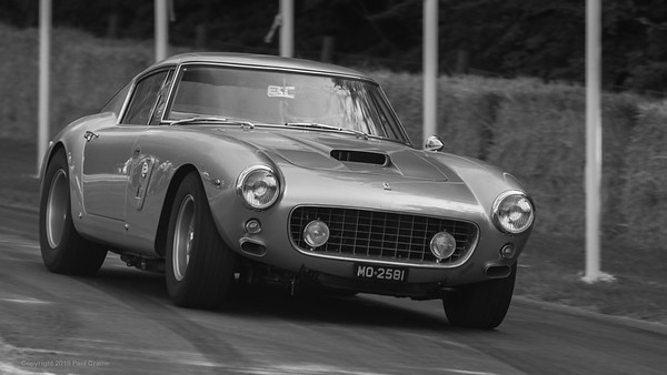 1961 Ferrari 250 GT SWB-C  BW- Goodwood Festival of Speed -  July 2019