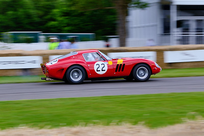 250 GTO in motion