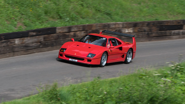 Ferrari F40 2 9 twin turbo - Shelsley Walsh Hill Climb - supercarfest 20th July 2019