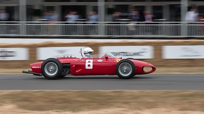 Ferrari 156 Sharknose - Jason Wright - Goodwood Festival of Speed 2018