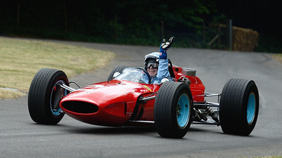 John Surtees 1964 Ferrari 158 2014 Goodwood Festival of Speed