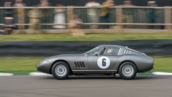 1966 Ferrari 275 GTB-C - Laurant Desplaces - Goodwood Revival 2019