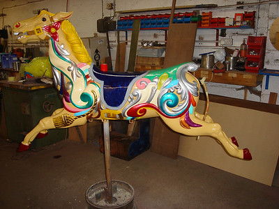 Gallopers Restoration