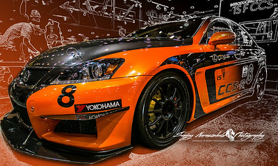 Lexus IS F Sport CCS Race Car, Houston Car Show, January 26, 2013