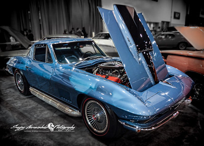 1967 Chevrolet Corvette Coupe 427, Houston Car Show, January 28. 2012