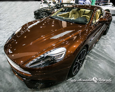 2013 Aston Martin Vanquish, Houston Car Show, January 26, 2013