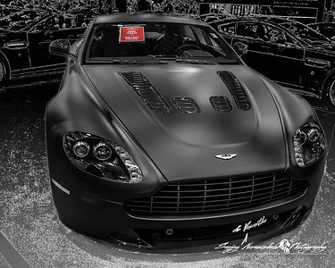 2013 Aston Martin V12 Vantage, Houston Car Show, January 26, 2013