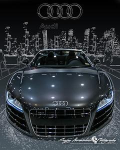 2013 Audi R8 Spyder, Houston Car Show, January 26, 2013