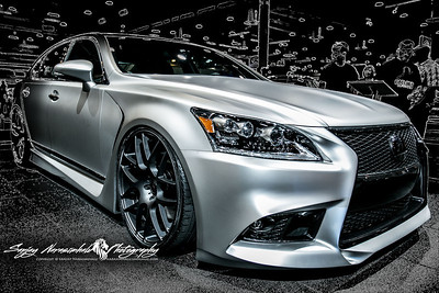 Lexus LS 460 F Sport, Houston Car Show, January 26, 2013