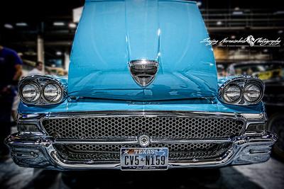 1958 Ford Fairlane, Houston Car Show, January 26, 2013