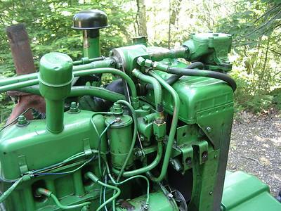 JD 420 Steering valve
