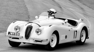 Jaguar XK120 1950 3.4 litre 6 cylinder Micky Collins