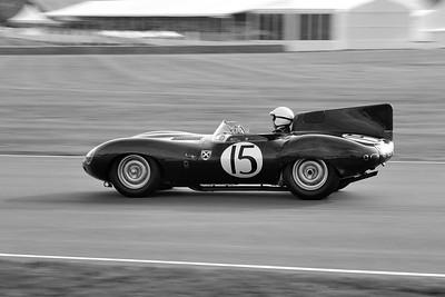 1957 Jaguar XKSS Derek Hood BW