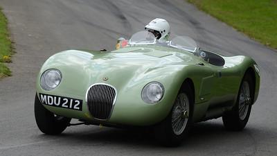 Jaguar C Type 1952 3.4 litre 6 cylinder Richard Frankel