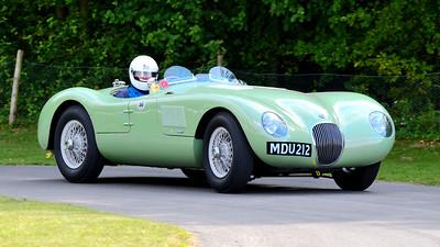 Jaguar C-Type 1952 3.4 litre 6 cylinder Richard Frankel