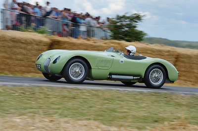 Jaguar C Type 1952 3400cc 6 cylinder Vernon Mackenzie Goodwood Festival of Speed 2014