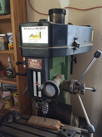 LObo mini milling machine