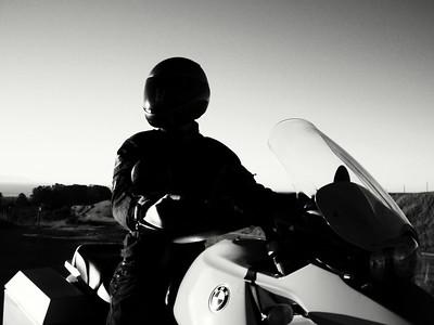 Rider in Monotone