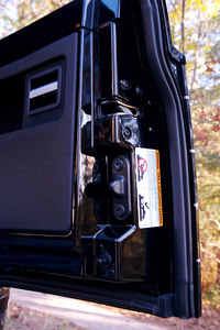 Right tailgate detail