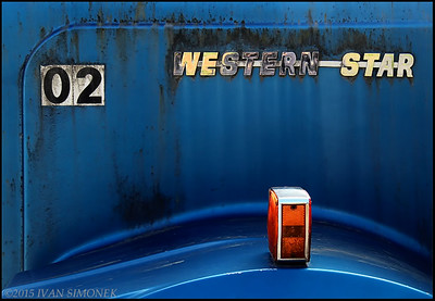 """WESTERN STAR"", old logging truck, Wrangell,Alaska,USA."
