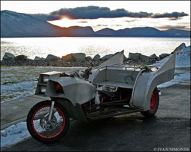 """BAT CYCLE"",Wrangell,Alaska,USA."