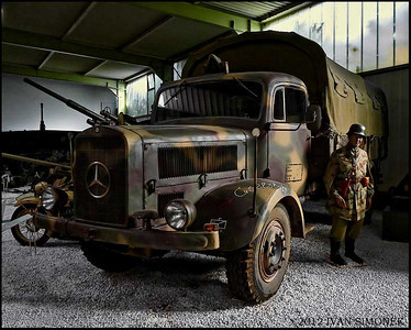 """MERCEDES TRUCK"",Sinsheim,Germany."