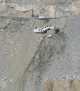Rock quarry.  Corona, CA.  18 Jul 2008.