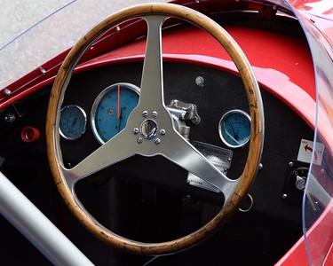 Maserati 250F cockpit 3