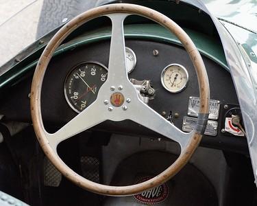 Maserati 250F cockpit 2