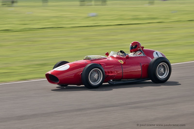 1960 Ferrari 246 Dino  - Tony Best - The Goodwood Revival 2018