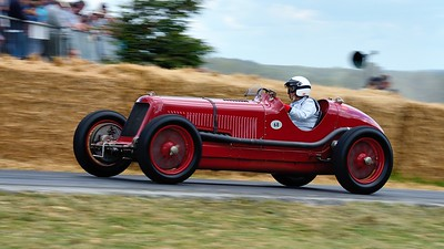 Maserati 8CM 1933 3 litre supercharged 8 cylinder Festival of Speed 2014 Josine Louwman