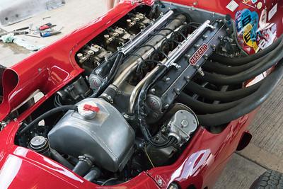 Maserati 250 Engine bay- Silverstone Classic 2018