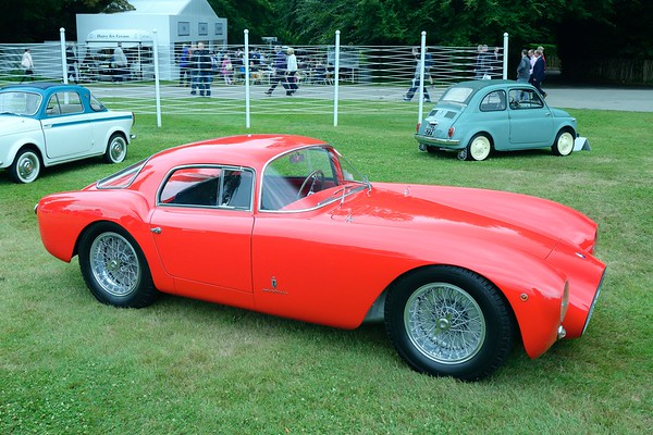 1953 Maserati A6GCS Pininfarina Berlinetta  at the  Goodwood Festival of Speed 2017