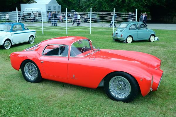 1953 Maserati A6GCS Pininfarina Berlinetta  at the  Goodwood Festival of Speed 2017