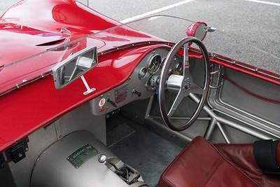 Maserati 250S Cockpit - Silverstone Classic 2018