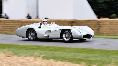 Mercedes Benz W196 1954 2 5 litre 8 cylinder Hans Herrmann Goodwood Festival of Speed 2014