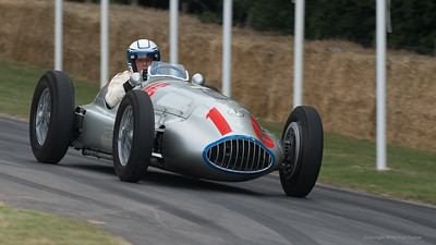 1939 Mercedes Benz W165 - Jochen Mass 2 - Goodwood Festival of Speed -  July 2019