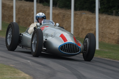 1939 Mercedes Benz W165 - Jochen Mass - Goodwood Festival of Speed -  July 2019
