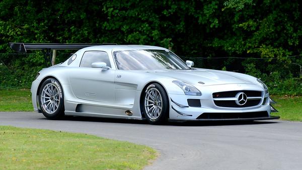 Mercedes-Benz SLS GT3 2011 6.3 litre V8 Bernd Schneider