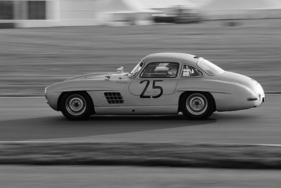 1955 Mercedes Benz 300SL Gullwing Jochen Mass BW