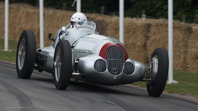 1937 Mercedes Benz W125 - Martin Viessmann - Goodwood Festival of Speed -  July 2019